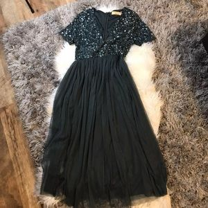 Maya Maternity sequin dress